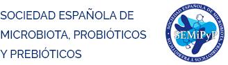 Sociedad Española de Microbiota Probióticos y Prebióticos Logo